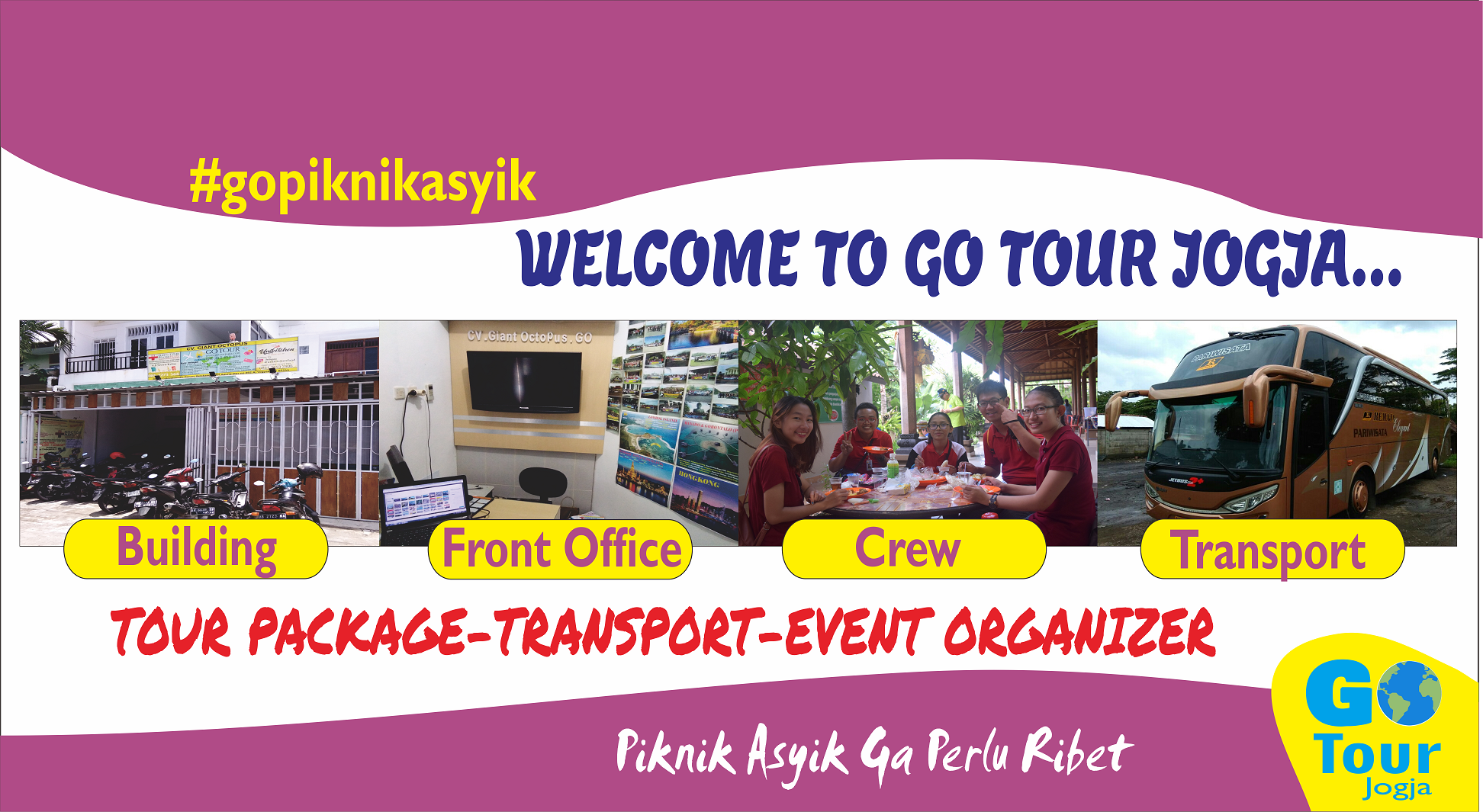 GO Tour And Travel Yogyakarta